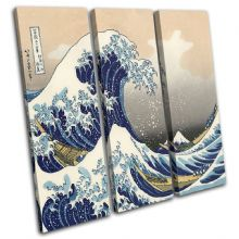 Hokusai Great Wave  Illustration - 13-0791(00B)-TR11-LO